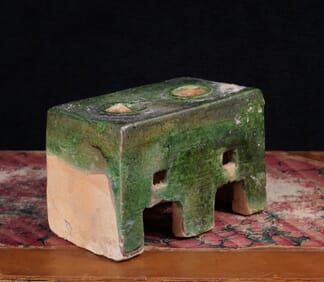 Chinese Ming Dynasty model stove, 16th century -0