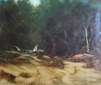 Lucette DaLozzo oil painting - 'Peaceful Harmony' 1979-0